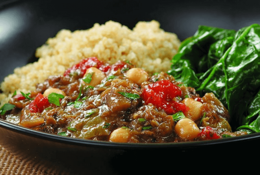 healthy family meals - moroccan chickpea stew
